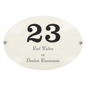 Emaille gebold 16 x 11 cm
