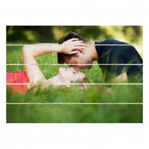 Foto op hout 70 x 50 cm